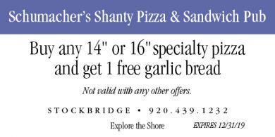 Schumacher's Shanty Pizza & Sandwich Pub